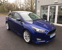 USED 2015 15 FORD FOCUS 1.5 ZETEC S NAVIGATOR ECOBOOST 150 BHP THIS VEHICLE IS AT SITE 1 - TO VIEW CALL US ON 01903 892224