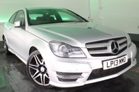 USED 2013 13 MERCEDES-BENZ C-CLASS 2.1 C220 CDI BLUEEFFICIENCY AMG SPORT PLUS 2d AUTO 168 BHP