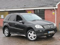 2005 MERCEDES-BENZ M CLASS ML320 CDI SPORT (SAT NAV / HUGE SPEC) AUTO 5dr £6490.00