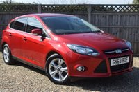 USED 2013 63 FORD FOCUS 1.0 ZETEC 5d 99 BHP In soon. Call for details
