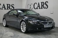USED 2007 07 BMW 6 SERIES 4.8 650I SMG 2d 363 BHP Full Light Beige Leather Heated Electric Seats, Satellite Navigation + Bluetooth Connectivity, Front and Rear Park Distance Control, 19 Inch Alloy Wheels, Leather Multi Function Steering Wheel, Cruise Control, Dual Zone Climate Control, Heated Electric Powerfold Mirrors,