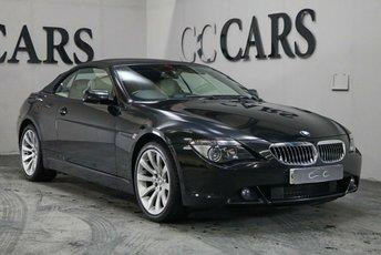 2007 BMW 6 SERIES 4.8 650I SMG 2d 363 BHP £9995.00