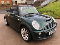 USED 2007 07 MINI CONVERTIBLE 1.6 COOPER S 2d AUTO 168 BHP FULL SERVICE HISTORY *  MOT MARCH 2020 *   PARKING AID *  PART LEATHER TRIM *  AUX CONNECTION *
