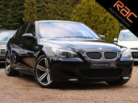 USED 2007 07 BMW M5 5.0 M5 4d AUTO 501 BHP (NAV, HEADS UP DISPLAY & MERINO LEATHER)