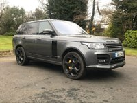USED 2015 65 LAND ROVER RANGE ROVER 4.4 SDV8 OVERFINCH £130000 COST NEW PLSE READ