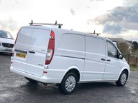 USED 2012 62 MERCEDES-BENZ VITO 2.1 113 CDI LONG LWB LWB, ONE PREVIOUS OWNER, LOW MILEAGE, BLUETOOTH, CRUISE