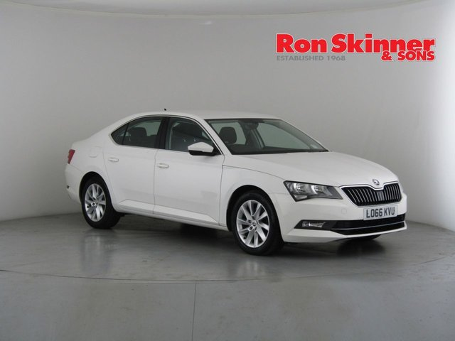 View our 2017 66 SKODA SUPERB 1.6 SE TDI 5d 118 BHP