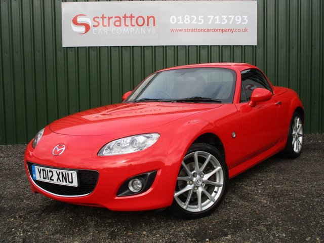 2012 12 MAZDA MX-5 2.0 I ROADSTER SPORT TECH 2d 158 BHP