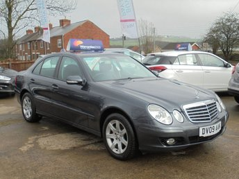 2009 MERCEDES-BENZ E CLASS 3.0 E280 CDI EXECUTIVE SE 4d AUTO 190 BHP * FULL LEATHER* SAT NAV* EXCELLENT* £5950.00