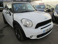 2011 MINI COUNTRYMAN 1.6 COOPER S 5d 184 BHP £7995.00