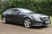 2013 MERCEDES-BENZ CLS CLASS 3.0 CLS350 CDI BLUEEFFICIENCY AMG SPORT 4d AUTO 265 BHP £SOLD