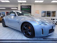 USED 2005 NISSAN 350 Z 3.5 V6 3d 277 BHP SATELLITE NAVIGATION + BLUETOOTH + CRUISE CONTROL + CLIMATE CONTROL + FULL BLACK SEATS + HEATED FRONT SEATS + CD RADIO + ELECTRIC WINDOWS + FULL MOT + SERVICE HISTORY