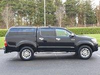 USED 2012 62 TOYOTA HI-LUX 3.0 INVINCIBLE 4X4 D-4D DCB 1d AUTO 169 BHP