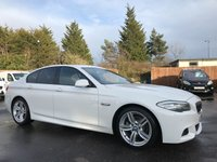 USED 2012 12 BMW 5 SERIES 2.0 520D M SPORT 4d AUTOMATIC WITH LOW MILEAGE  NO DEPOSIT HP FINANCE ARRANGED , APPLY HERE NOW