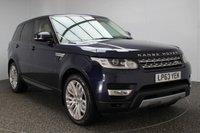 USED 2013 63 LAND ROVER RANGE ROVER SPORT 3.0 SDV6 HSE 5DR AUTO 288 BHP FULL SERVICE HISTORY 1 OWNER FULL LAND ROVER SERVICE HISTORY + LOW MILEAGE + HEATED LEATHER SEATS + SATELLITE NAVIGATION + PANORAMIC SUNROOF + REVERSE CAMERA + HEATED STEERING WHEEL + BLUETOOTH + CRUISE CONTROL + PARKING SENSOR + XENON HEADLIGHTS + CLIMATE CONTROL + 21 INCH ALLOY WHEELS