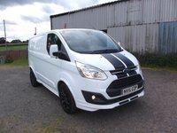 2015 FORD TRANSIT CUSTOM 2.2 290 SPORT LR P/V 5d 153 BHP, Genuine Sport van,  £13499.00