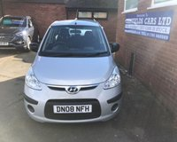 USED 2008 08 HYUNDAI I10 1.1 CLASSIC 5d 65 BHP ONE LADY OWNER ONLY 24K MILES, 11 HYUNDAI STAMPS