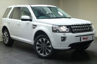 USED 2014 64 LAND ROVER FREELANDER 2.2 SD4 METROPOLIS 5d AUTO 190 BHP 1 OWNER + NAV + PAN ROOF + HEATED SEATS + SENSORS