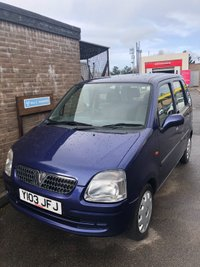 USED 2001 VAUXHALL AGILA 1.2 16V 5d 75 BHP Small family car one owner low cost