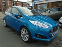 USED 2014 14 FORD FIESTA 1.0 TITANIUM X 5d 124 BHP 33,000 MILES, HEATED SEATS
