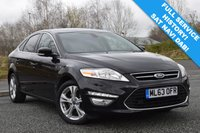 USED 2013 63 FORD MONDEO 2.0 TITANIUM X BUSINESS EDITION TDCI 5d AUTO 161 BHP 52,000 MILES! SAT NAV! FULL HISTORY! DAB! LEATHER!