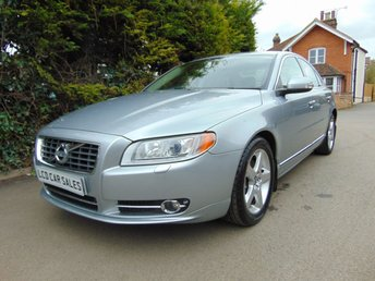 2009 VOLVO S80 2.4 D5 SE LUX AUTOMATIC £7990.00