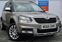 USED 2016 65 SKODA YETI 1.2 OUTDOOR SE TSI 5d Petrol Family MPV with Fantastic Low Mileage Heaed Seats and Rear Parking Sensors too ***ONE OWNER FROM NEW***