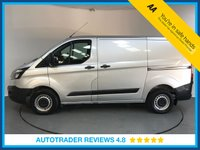 USED 2017 17 FORD TRANSIT CUSTOM 2.0 290 LR P/V 1d 104 BHP FULL SERVICE HISTORY - AIR CON - FRONT AND REAR PARKING SENSORS - AUX/USB CONNECTIVITY - 3 SEATS