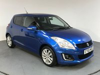 USED 2016 65 SUZUKI SWIFT 1.2 SZ4 5d AUTO 94 BHP ONE OWNER - SERVICE HISTORY - AIR CONDITIONING - SAT NAV - CRUISE - BLUETOOTH - AUX/USB