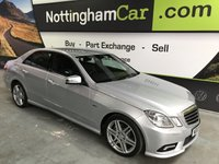 2009 MERCEDES-BENZ E CLASS 3.0 E350 CDI BLUEEFFICIENCY SPORT 4d AUTO 231 BHP £8495.00
