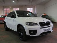 USED 2012 X BMW X6 3.0 XDRIVE30D 4d AUTO 241 BHP SAT NAV, HEATED LEATHER & MORE