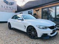 2016 BMW 4 SERIES 2.0 420D M SPORT 2d AUTO 188 BHP £21490.00