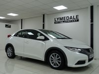 USED 2012 12 HONDA CIVIC 1.8 I-VTEC EX 5d 140 BHP