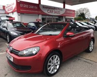2013 VOLKSWAGEN GOLF 2.0 SE TDI BLUEMOTION TECHNOLOGY CONVERTIBLE £7495.00