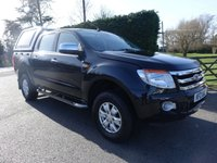 USED 2012 12 FORD RANGER 2.2 XLT 4X4 DOUBLE CAB PICK UP TDCI 2.2 TDCI 150 BHP Direct From Leasing Company With Low Miles And Excellent Service History! Higher Specification Model With Air Con, Alloy Wheels And Solid Hardtop, Very Clean Example!