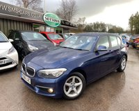 2016 BMW 1 SERIES 1.5 116D ED PLUS 5d 114 BHP £10989.00