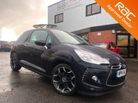 USED 2014 14 CITROEN DS3 1.6 DSTYLE PLUS 3d 120 BHP PARKING SENSORS | CRUISE CONTROL | PRIVACY GLASS | ALLOYS | AIR CON | RAC BUYSURE