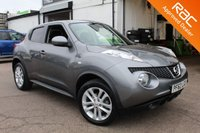 USED 2013 51 NISSAN JUKE 1.6 ACENTA PREMIUM 5d AUTO 117 BHP VIEW AND RESERVE ONLINE OR CALL 01527-853940 FOR MORE INFO.