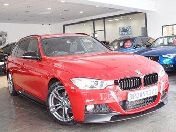 2015 BMW 3 SERIES 2.0 320D M SPORT TOURING 5d 181 BHP £14490.00
