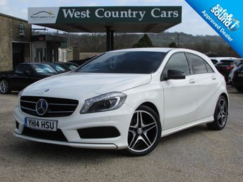 2014 MERCEDES-BENZ A CLASS 1.5 A180 CDI BLUEEFFICIENCY AMG SPORT 5d 109 BHP £13000.00
