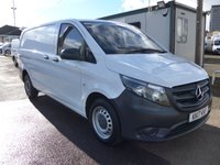 USED 2017 17 MERCEDES-BENZ VITO 1.6 111 CDI 114 BHP [EURO 5], LOW MILES, 1 COMPANY OWNER