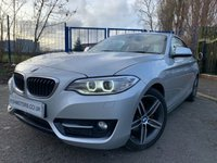 2015 BMW 2 SERIES 2.0 220D SPORT 2d 188 BHP £12490.00