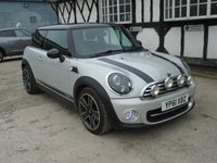 2011 MINI HATCH COOPER 1.6 COOPER D SOHO 3d 110 BHP £4995.00