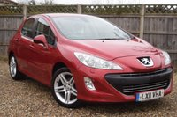 USED 2011 11 PEUGEOT 308 1.6 SPORTIUM 5d 120 BHP Free 12  month warranty