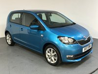 USED 2017 17 SKODA CITIGO 1.0 SE L MPI ASG 5d AUTO 74 BHP ONE OWNER - AIR CONDITIONING - BLUETOOTH CONNECTIVITY - REAR PARKING SENSORS - ISO FIX - AUX