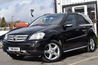 USED 2007 MERCEDES-BENZ M CLASS 3.0 ML280 CDI SPORT 5d AUTO 188 BHP SUPERB EXAMPLE WITH GREAT SERVICE HISTORY WE ALSO HAVE 2 KEYS