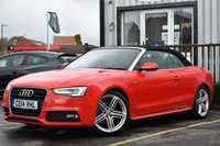 2014 AUDI A5 2.0 TFSI S LINE SPECIAL EDITION 2d AUTO 222 BHP £14995.00