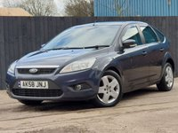 USED 2008 58 FORD FOCUS 1.6 STYLE TDCI 5d 107 BHP