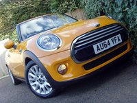 2014 MINI HATCH COOPER 1.5 COOPER 3d 134 BHP £9999.00