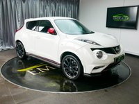 USED 2014 14 NISSAN JUKE 1.6 NISMO DIG-T 5d AUTO 200 BHP £0 DEPOSIT FINANCE AVAILABLE, AIR CONDITIONING, AUTOMATIC HEADLIGHTS, AUTOMATIC WIPERS, AUX INPUT, BLUETOOTH CONNECTIVITY, CLIMATE CONTROL, CRUISE CONTROL, DAYTIME RUNNING LIGHTS, DRIVE PERFORMANCE CONTROL, HEATED SEATS, REVERSE CAMERA, STEERING WHEEL CONTROLS, TRIP COMPUTER, USB INPUT